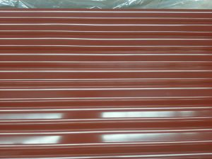 Colour Coated Galvanized Corrugated Steel Roof Sheets pictures & photos