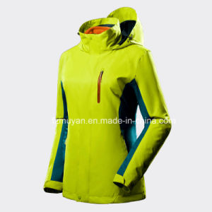 Outdoor Leisure Waterproof Breathable Hooded Jacket pictures & photos