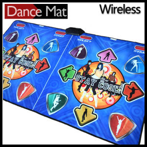 2015 New 2 Players Dance Pad Wireless for PC and TV pictures & photos