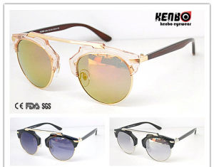 Fashion Round Frame Sunglasses CE FDA Kp50201 pictures & photos