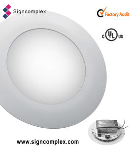 """Hot New 3528 10W 6"""" Round LED Panel Light Wigh Ce RoHS UL pictures & photos"""