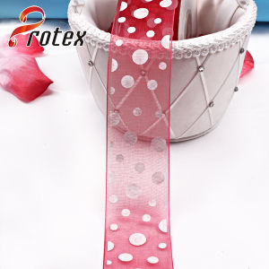 Organza Ribbon Mesh Ribbon pictures & photos