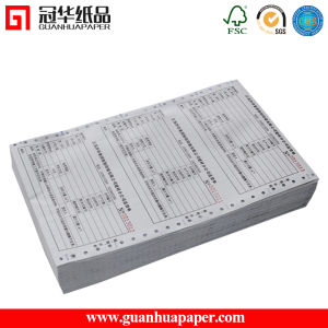 2/3 Ply Continuous Carbonless Printing Paper Computer Paper pictures & photos