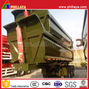 2-3 Axles U Shaped Hydraulic Tipping Truck Semi Tipper pictures & photos