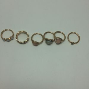 Set Colorful Ring with Gemstone Fashion Jewellery pictures & photos