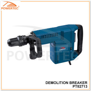 Powertec 1500W Electric Demolition Breaker with Steel Box (PT82713) pictures & photos