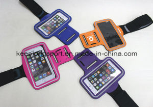 2016 New Deisgn Fashionable Neoprene +PVC Armband Case for iPhone pictures & photos