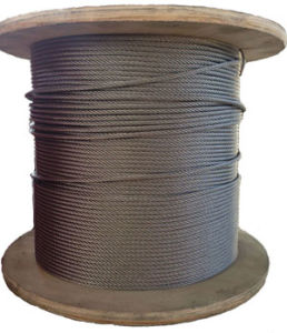 AISI316 7X19 Stainless Steel Wire Rope for Marine pictures & photos
