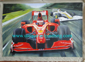 Oil Painting, Car Oil Painting, Realism Oil Painting
