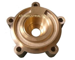 CNC Machined Brass Hot Forging Part pictures & photos