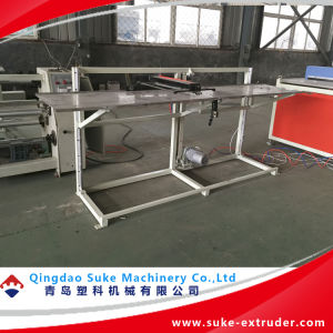 PVC Wood Plastic WPC Profile and Board Extruder Production Extrusion Line pictures & photos