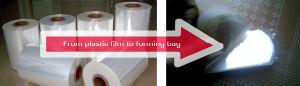 PVC PE Arc-Shaped Sealing Bag Making Machine (PVC PE400/500/600/700) pictures & photos