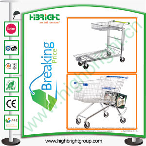 Warehouse Tablet Trolley/Construction Supermarket Shopping Cart pictures & photos