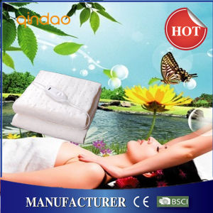 Ce GS Certificate Approval King/Queen Ultrasonic Welding Electric Bed Warmer pictures & photos