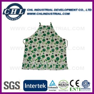 Unisex Colorful Low Price Customized Washable Linen Chef Apron pictures & photos
