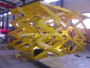 Hydraulic Cargo Platform Lift Scissor Lift pictures & photos