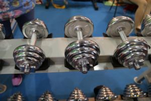 Electroplate Dumbbells Gym Equipment Fitness Equipment pictures & photos