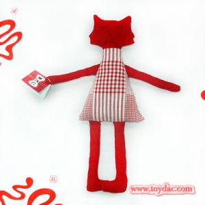 Soft Art Cotton Rag Toy Cat pictures & photos