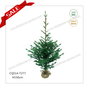 H90-125cm Wholesale Customized Grass Craft Christmas Tree Gift pictures & photos