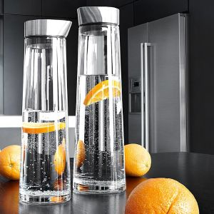 1L 1.5L Cold Water Bottle Borosilicate Glass Cold Water Kettle Glass Pitcher pictures & photos