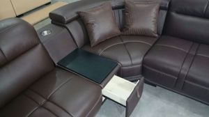 High Quality Leather Sofa, Sofa with Corner, Factory Price (A849) pictures & photos