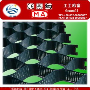 Grass Seed Mats 50mm--200mm Cell Depth HDPE Smooth Plastic Geocell on Sale pictures & photos