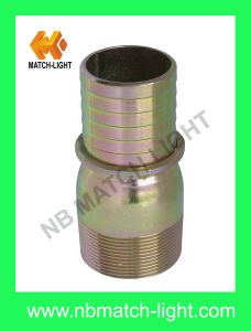 Brass Nipple Fittings-Kc Nipple with Collar pictures & photos