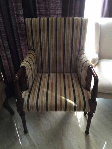Chair/Foshan Hotel Furniture/Luxury Restaurant Chair/Foshan Hotel Chair/Solid Wood Frame Chair/Dining Chair (NCHC-021) pictures & photos