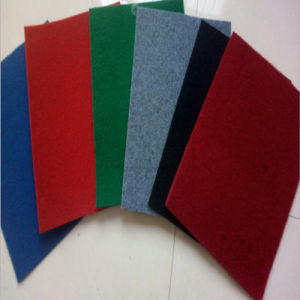 Polyester Fireresistant Plain Exhibition Carpet pictures & photos