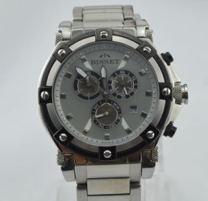 Stainless Steel Sports Watch Chronograph (084)