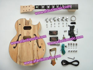 Afanti Music / Hollow Body Style / Spalted Maple Top / Electric Guitar Kit (AHB-158) pictures & photos