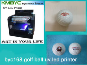 High Speed LED UV Printer for Golf Ball/Phone Case/Pen pictures & photos