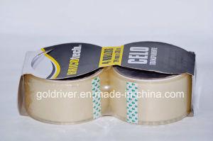2 Pack Transparent Packaging Tape (STK-012)