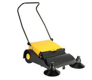 Small Size Manual Single Rotating Brush Sweeper (ZLS800) pictures & photos