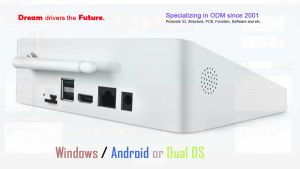 7inch Screen Intel Dual System Dual Boot Mini TV Box pictures & photos
