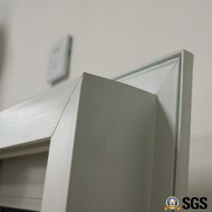 White Colour UPVC Profile Sliding Window with Special Edge, UPVC Window, Window K02082 pictures & photos