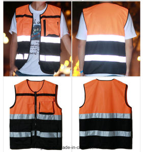 Reflective Cycling Vest for Outdoor Sport (C2423) pictures & photos
