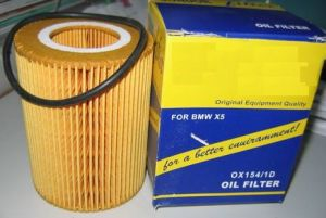 Auto Oil Filter Ox154-1d for BMW X5 pictures & photos