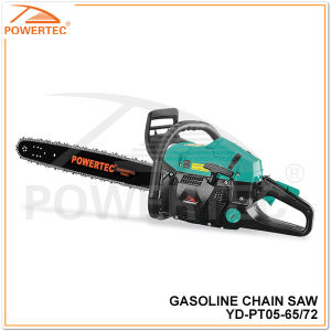 "Powertec 20""/22""/24"" Gasoline Chainsaw (YD-PT05-65) pictures & photos"
