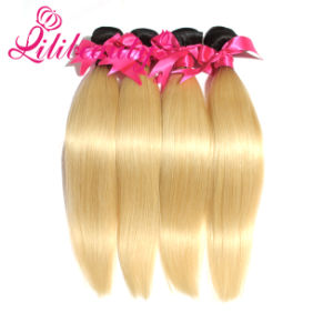 Human Hair 8A Grade Wholesale Ombre Hair Extension pictures & photos