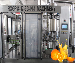 3in1 Bottling Juice Filling Plant (RXGF) pictures & photos