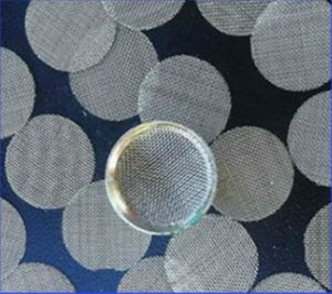 Stainless Steel Material Tobacoo Smoking Pipe Filter Disc Filter Screen Mesh pictures & photos