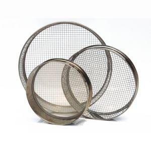 50 mm Height, 200 mm Diameter Test Sieve/Grain Sieve/Flour Sieve Shaker-200/250/270/300/325/350/400/500 Mesh pictures & photos