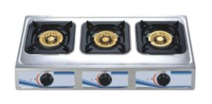 Hot Sell Deluxe Three Burner Gas Stove
