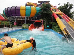 Super Bowl Fiberglass Slide for Water Park