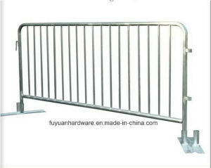 Low Price Hot Dipped Galvanized Portable Barricade Crowd Control Barrier pictures & photos