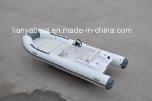 Liya 14ft Electric Sport Rib Boat Central Console Hypalon Boat Factory pictures & photos