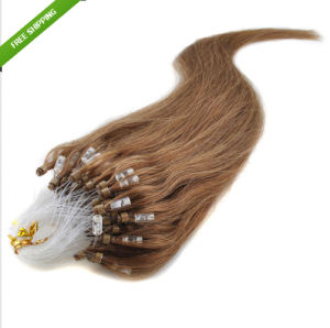 Remy Micro Loop Ring Human Hair Extensions pictures & photos