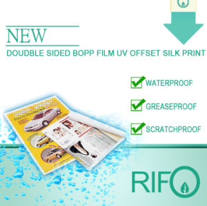Traditional Printable BOPP Synthetic Paper by Ordinary Ink Printable pictures & photos