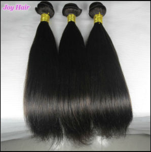 100% Real Human Hair Extensions Virgin Brazilian Hair Weave pictures & photos
